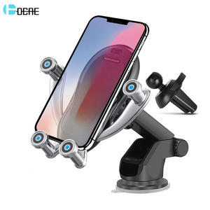 DCAE 10W Fast Qi Automatic Wireless Car Charger For iPhone 11 X XS Max XR 8 Infrared Sensor Charging Holder for Samsung S10 S9