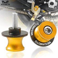 8 мм megamoto Мотоцикл cnc алюминиевый маятник катушка слайдер