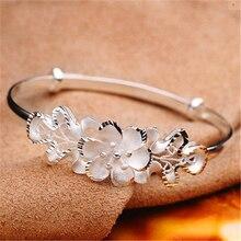 925 Sliver Diamond Personalized Knot Bracelets for Women Jewelry Pulseiras Bracelet White Topaz Plata De Ley Mujer