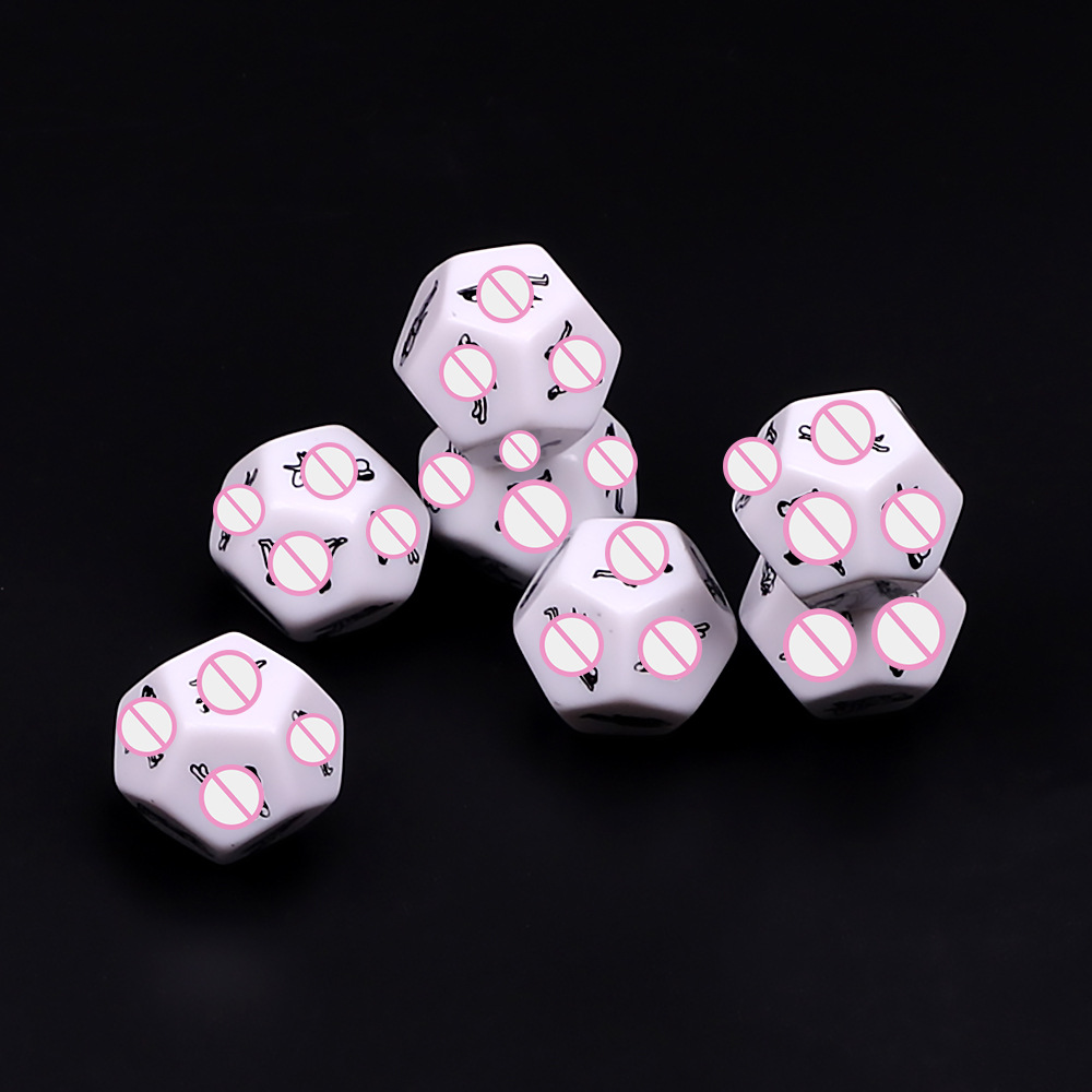 Funny Sex Dice 12 Positions Sexy Romance Love Humour Gambling Adult Games Erotic Craps Pipe Sex Toys For Adult Couples