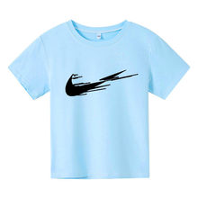 New boys girls casual short sleeve t-shirts clothes kids cotton summer tops t-shirts clothing boys girls tees tops 4-14 Years