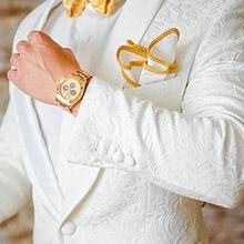 Текстура жениха мужской свадебный костюм смокинги мужские костюмы лучший мужской блейзер из трех частей(куртка+ брюки+ галстук