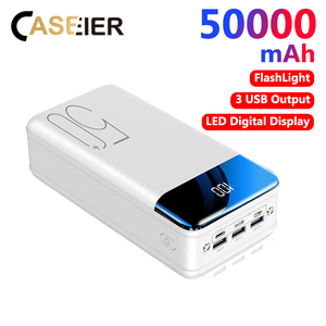 CASEIER 50000mAh Power Bank Bi