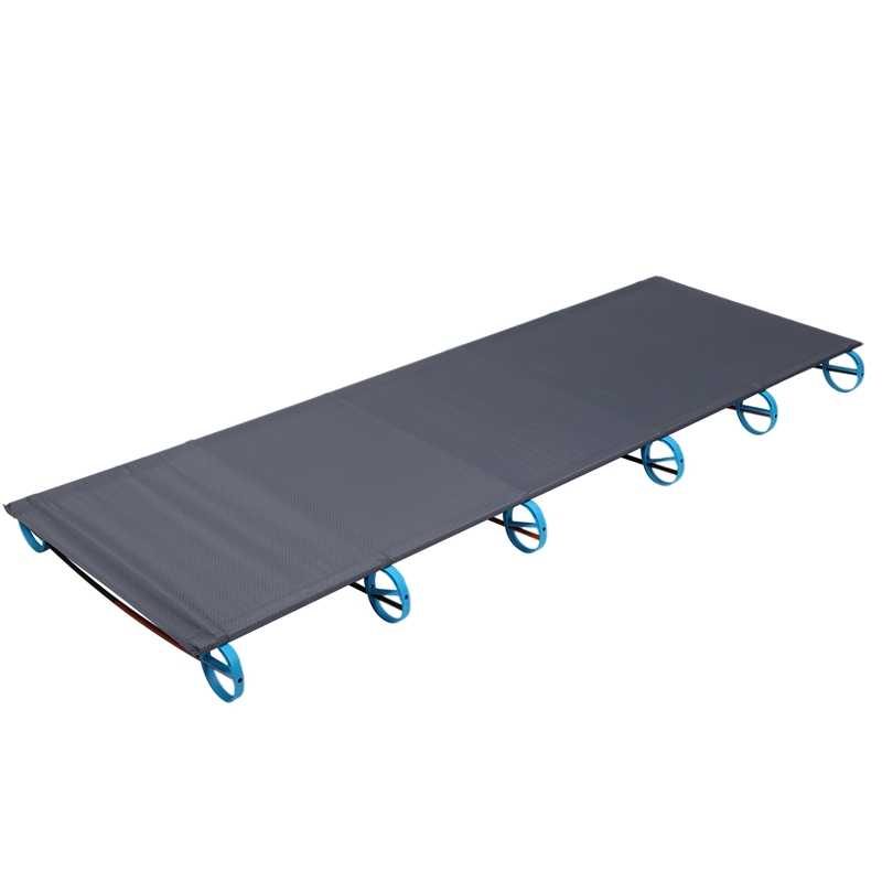 Outdoor Folding Bed Portable Single Bed Ultralight Reinforcement Camping Camping Camp Bed Simple Office Bed|Camping Cots| |  - title=