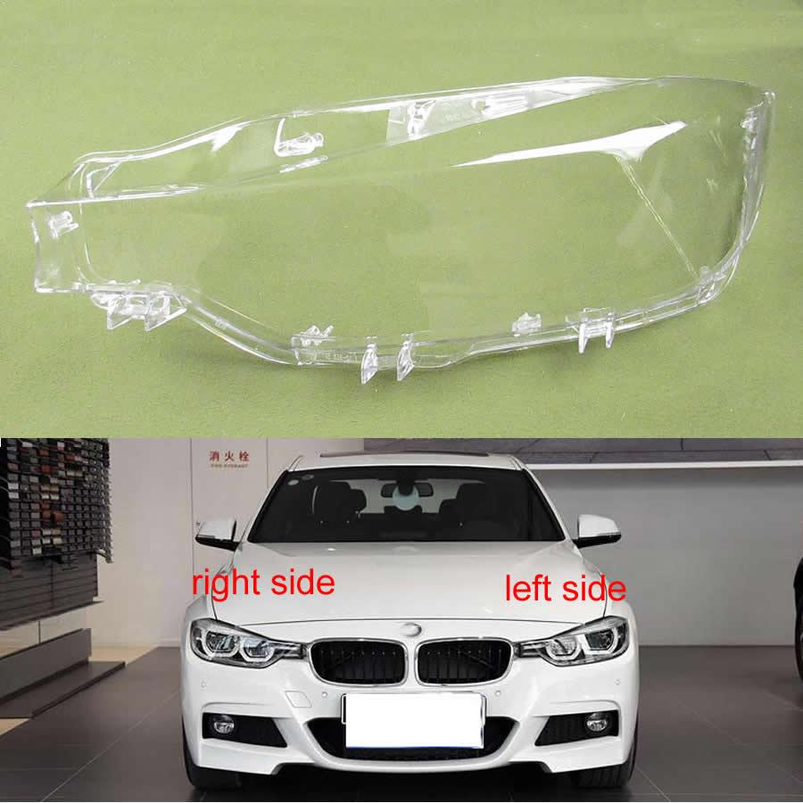 For BMW 3 Series F35 F30 316 320 328Li 335 2016 2017 2018 Led Headlights Cover Lampshade Headlights Lampshade Headlamp Shell