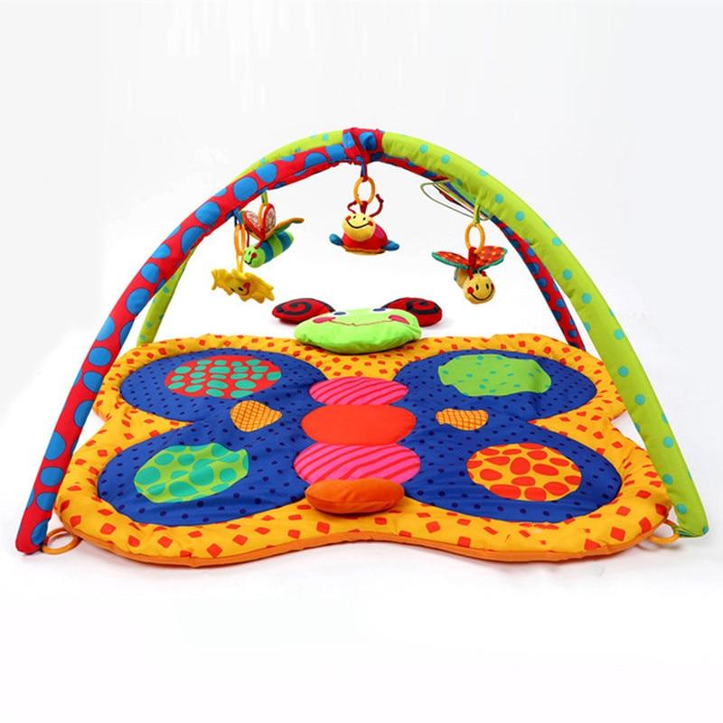 Bébé tapis jouets éducatifs bébé ramper/Gym tapis musique jouer tapis infantile tapis de jeu pour enfants activité tente tapis jouets pour enfants