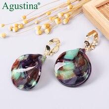 Agustina Punk Small Earrings Girls Drop Earrings For Women Fashion Earrings Jewelry Bohemian Pendientes Cute Earring Minimalist