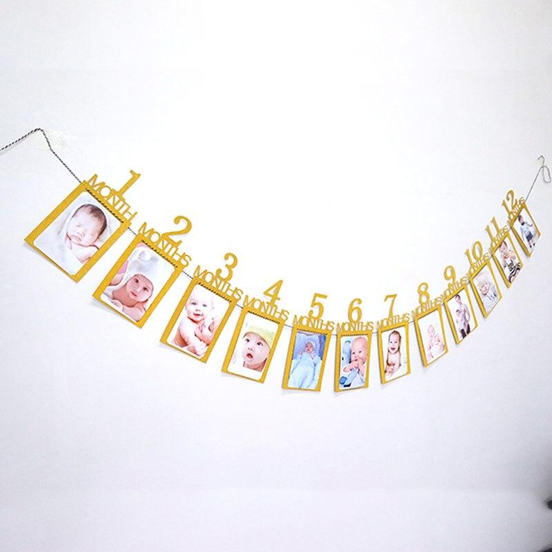 Детский фон на день рождения, занавес, креативный, один год, флажок на день рождения, rideau anniversaire, однотонный, высокое качество, декор для фотосъемки