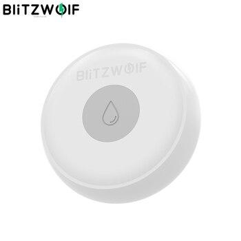 BlitzWolf BW-IS5 Kablosuz ZigBee Akıllı Ev Su Kaçak Sensörü APP Uzaktan Alarm Dedektörü 50 Metre Iletişim Akıllı Elektronik