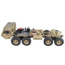 1:12 8x8 R/C 2,4 г Высокая лошадиная сила метанол на газе военный грузовик модель дорожного транспортного средства комплект