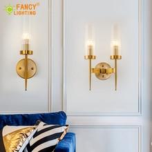 где купить (E14 LED Bulb For Free)Modern Wall lamp stairs Led wall light for home bathroom/bedroom light Glass shade wall sconce wandlamp по лучшей цене