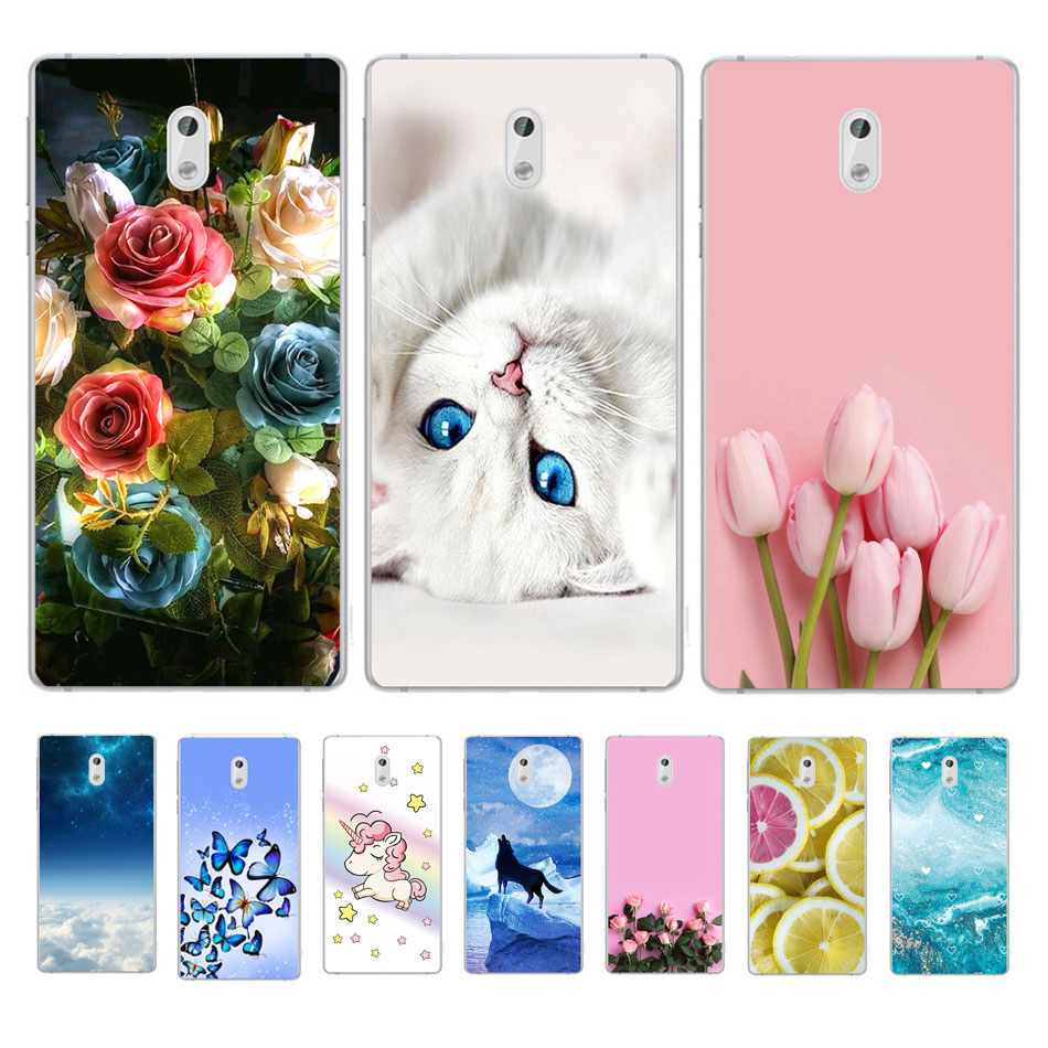 For <font><b>Nokia</b></font> <font><b>3</b></font> <font><b>Case</b></font> <font><b>Nokia</b></font> <font><b>3</b></font>.1 <font><b>Case</b></font> Soft TPU Silicone Back Cover Phone <font><b>Case</b></font> For <font><b>Nokia</b></font> <font><b>3</b></font> <font><b>3</b></font>.1 TA-<font><b>1032</b></font> TA-1063 TA <font><b>1032</b></font> 1063 Coque Funda image