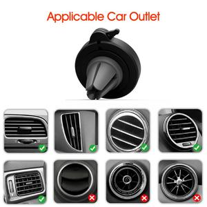 Image 2 - Phone Holder For Phone In Car Air Vent Mount, For Phone in Car Air Vent Clip Mount No Magnetic Mobile Phone Holder GPS Stand