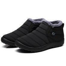 2019 Waterproof Women Winter Shoes Plus Size 45 Couple Snow