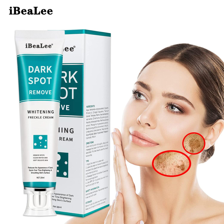 Whitening Freckle Cream Face Moisturizing Remove Dark Spots Melanin Melasma Remover Brightening Skin Effective Repair Anti-Aging