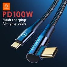 Mcdodo 2M 87W USB Magnetico di Tipo C Per USB C Cavo 4.5A PD3.0 per Samsung S10 Interruttore Macbook notebook Caricatore Del Telefono Cavo Dati USB