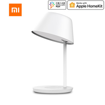 Xiaomi Yeelight YLCT02YL 6W Desk Lamp Smart WIFI Touch Dimmable / YLCT03YL 18W LED Table Light Pro Wireless Charging For iPhone