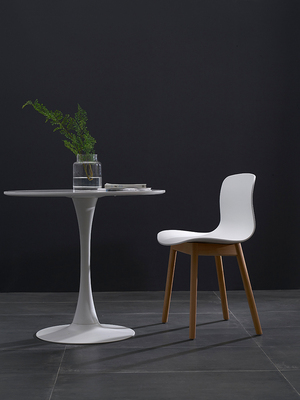 Nordic Ins Leisure Solid Wood Dining Chair Simple Modern Small Family Coffee House Household Creative Danish Designer Chair