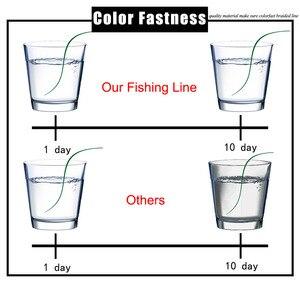 Image 5 - كسب خيط صنارة الصيد 12 حبلا 300 متر 35 180LB موس رمادي متعدد خيوط السلس بي مضفر الأسماك سلك المياه العذبة/المياه المالحة الصيد