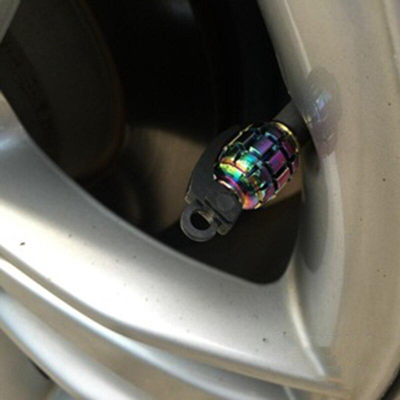 4 шт./компл. Алюминий колпачки для вентиля покрышек легковых авто велосипед мотоцикл сплав шина клапана чехлы авто-Стайлинг Запчасти