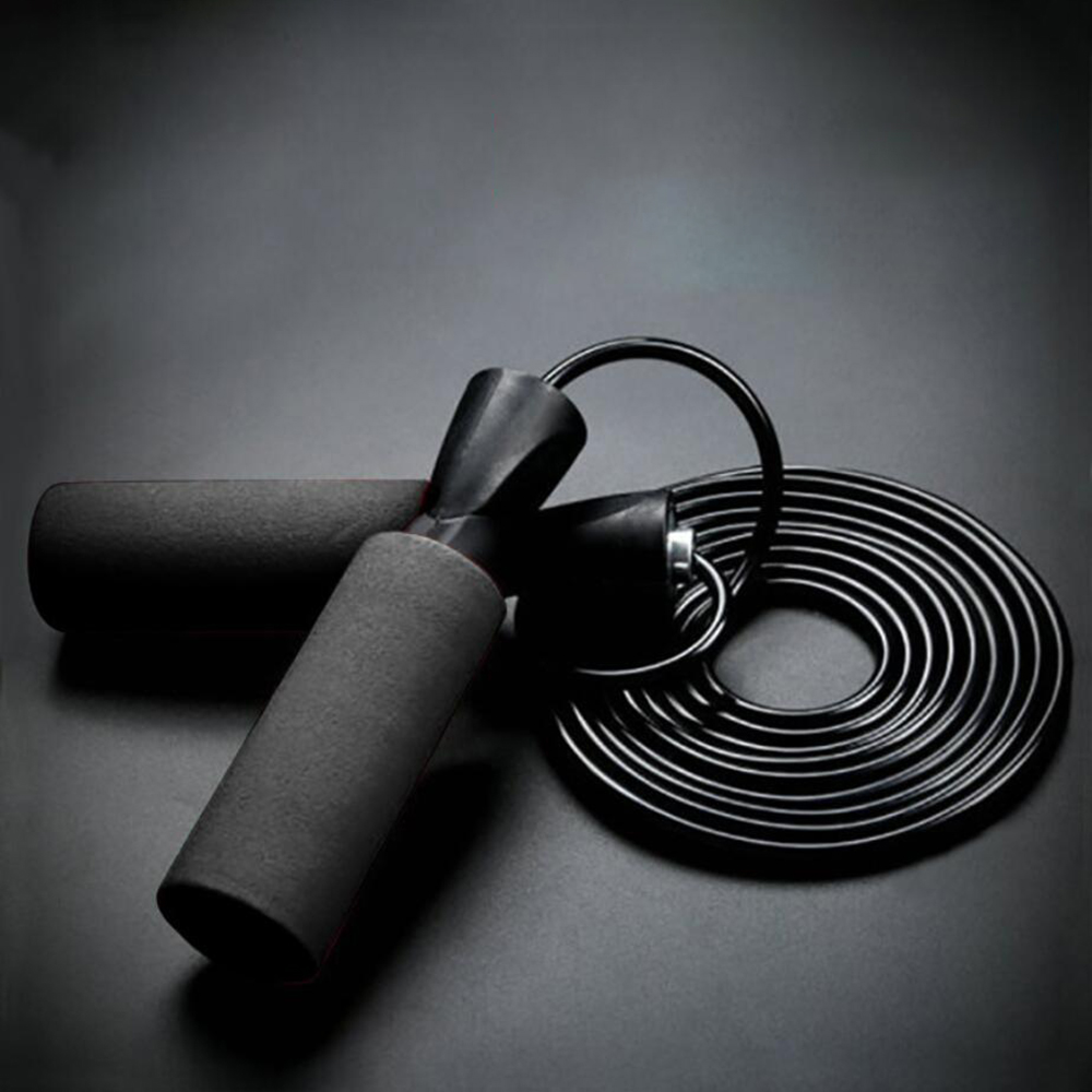Rope Steel Wire jumping ropes for Boxing MMA Gym Fitness Training crossfit skip hop Jump Rope Ultra-speed Ball Bearing Skipping(China)