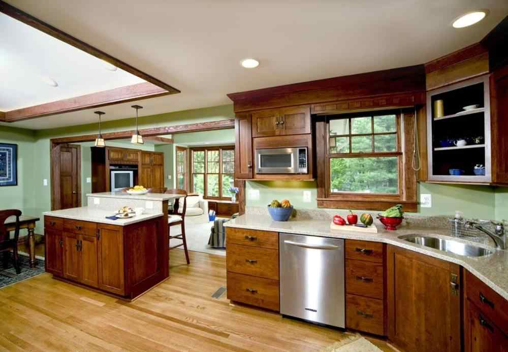 2020 Traditional Solid Wood Kitchen Furnitures Solid Timber Kitchen Cabinets Tk219 Kitchen Cabinets Aliexpress