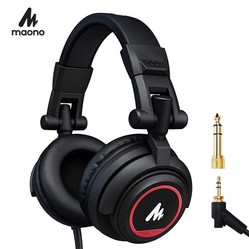 Professional Studio Monitor Kopfhörer Über Ohr mit 50mm Fahrer MAONO AU-MH501