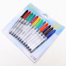 12PCS/box Tattoo Colorful Mark Pen Professional Mar