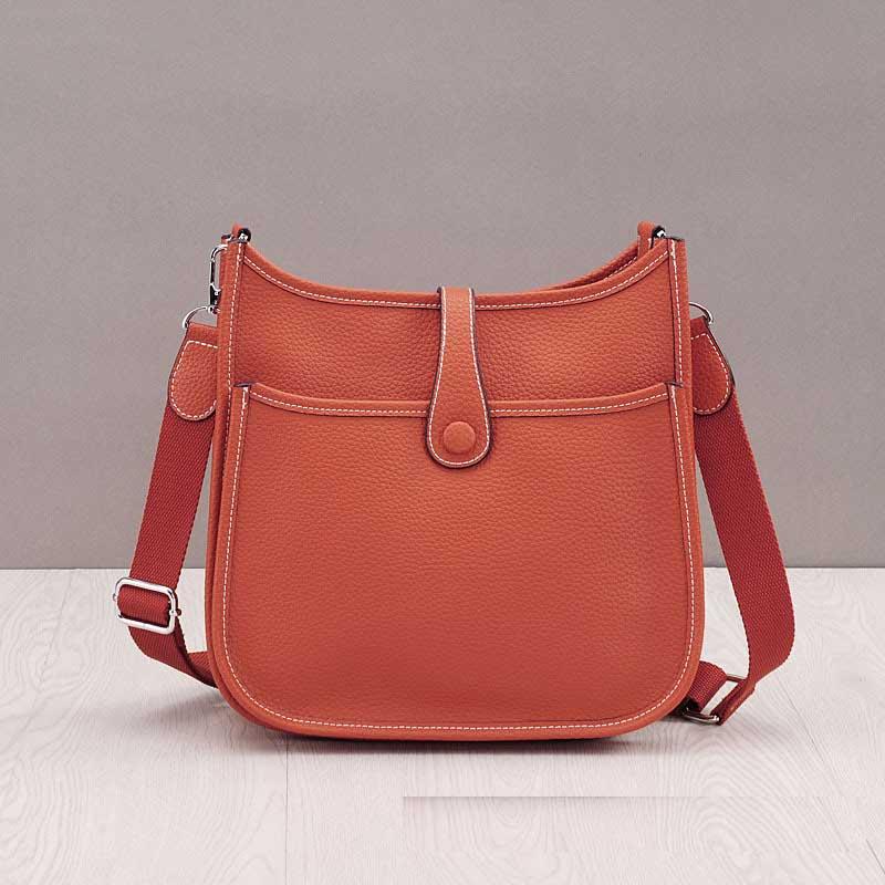 LOYOMA prawdziwej skóry kobiet wiadro torba skóra bydlęca prawdziwej skóry torby na ramię panie Handbaga mała torebka z szalikiem w Wiadra od Bagaże i torby na  Grupa 2