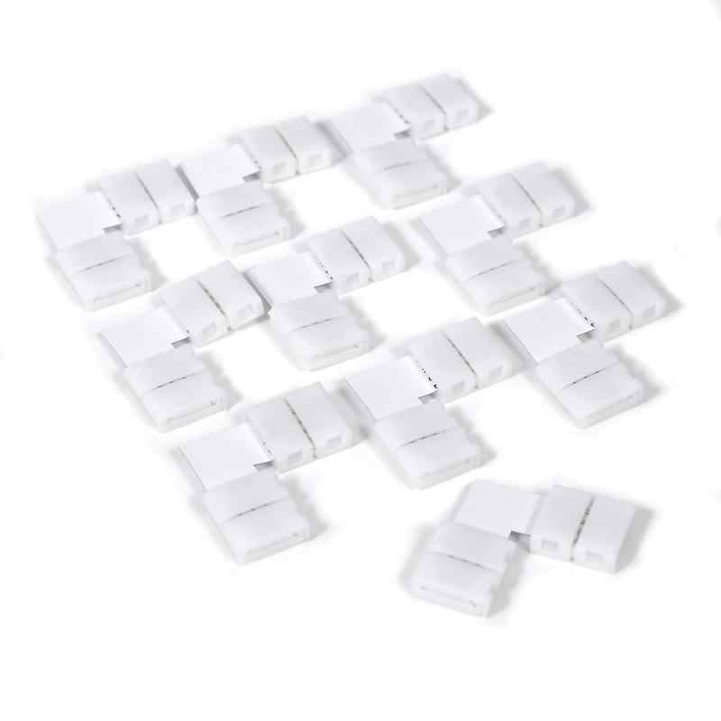 5 Pcs Gratis Solderen Geleid Connector 4PIN L Shape Corner Connector Voor 10 Mm 5050 Led Strip Light L Vorm