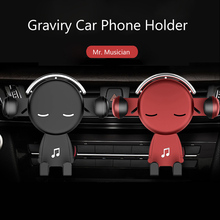 Car Ornaments Gravity Car Cell Phone Holder