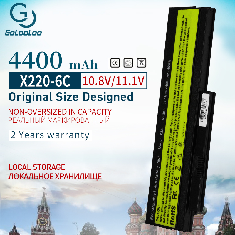 11.1v  Laptop Battery For Lenovo ThinkPad X220 X220i X220s 42Y4940 42T4901 42T4863 42T4867 42Y4868 42T4873 42Y4874 0A36282