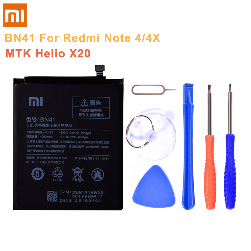 Image 3 - BN43 BN41 BM45 BM46 BN45 Battery For Xiaomi Redmi Note 5 4 4X 3 2 Note2 Note3 Note4 Note4X Replacement Lithium Polymer Battery-in Mobile Phone Batteries from Cellphones & Telecommunications