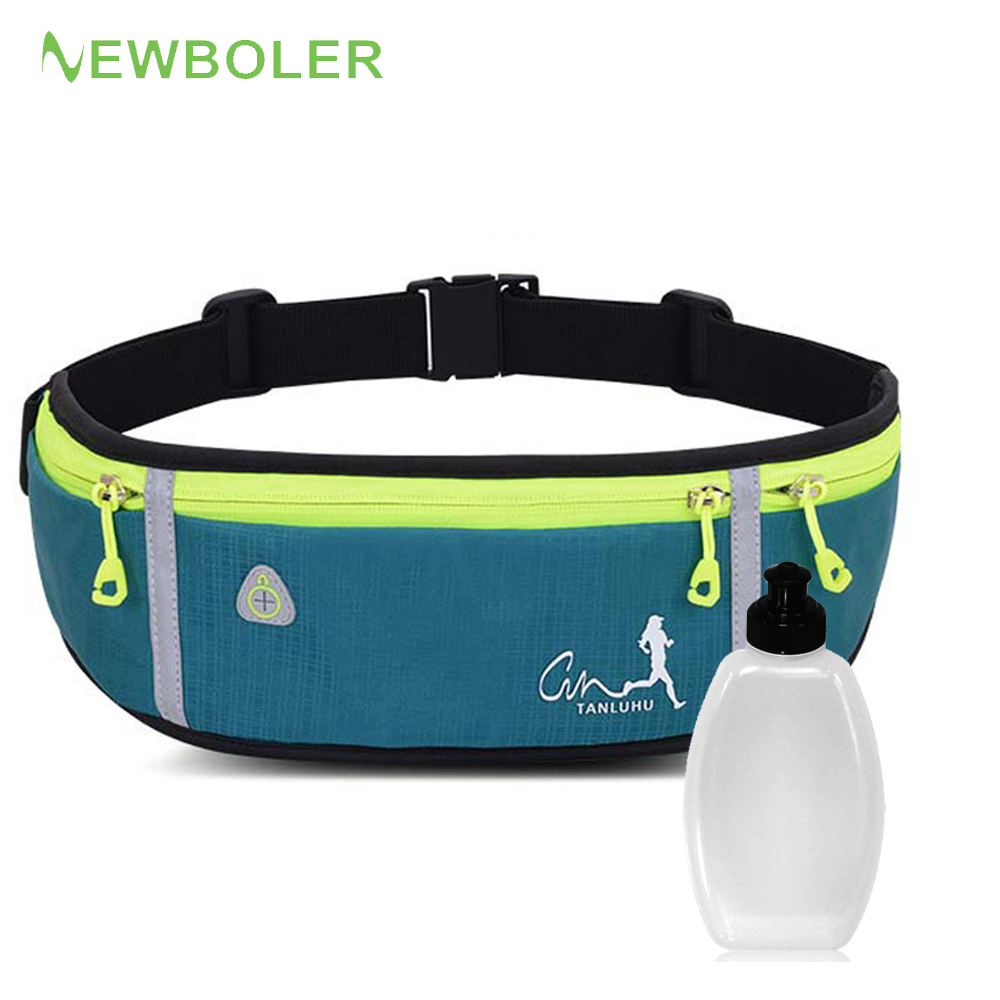 Professional Outdoor Running Bag Phone Anti-theft Pack Running Belt Waist Bags Waterproof Belt Men Women Gym With Water Bottle