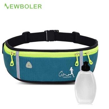 Professional Outdoor Running Bag Phone anti-theft Pack Running Belt waist Bags Waterproof Belt Men Women Gym With Water Bottle