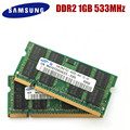 SAMSUNG 1GB 2GB PC2-4200S Laptoop RAM 1G 2G DDR2 533MHz PC2 4200S ноутбук память ноутбука