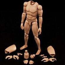 1:6 Male Action Figure MX02 B  (MX-B) Series Asian Skin Muscular Man Body Fit 12'' Head Sculpt 1 6 scale military figures 1 6 male body series asian skin tone mx02 b resin model body free shipping