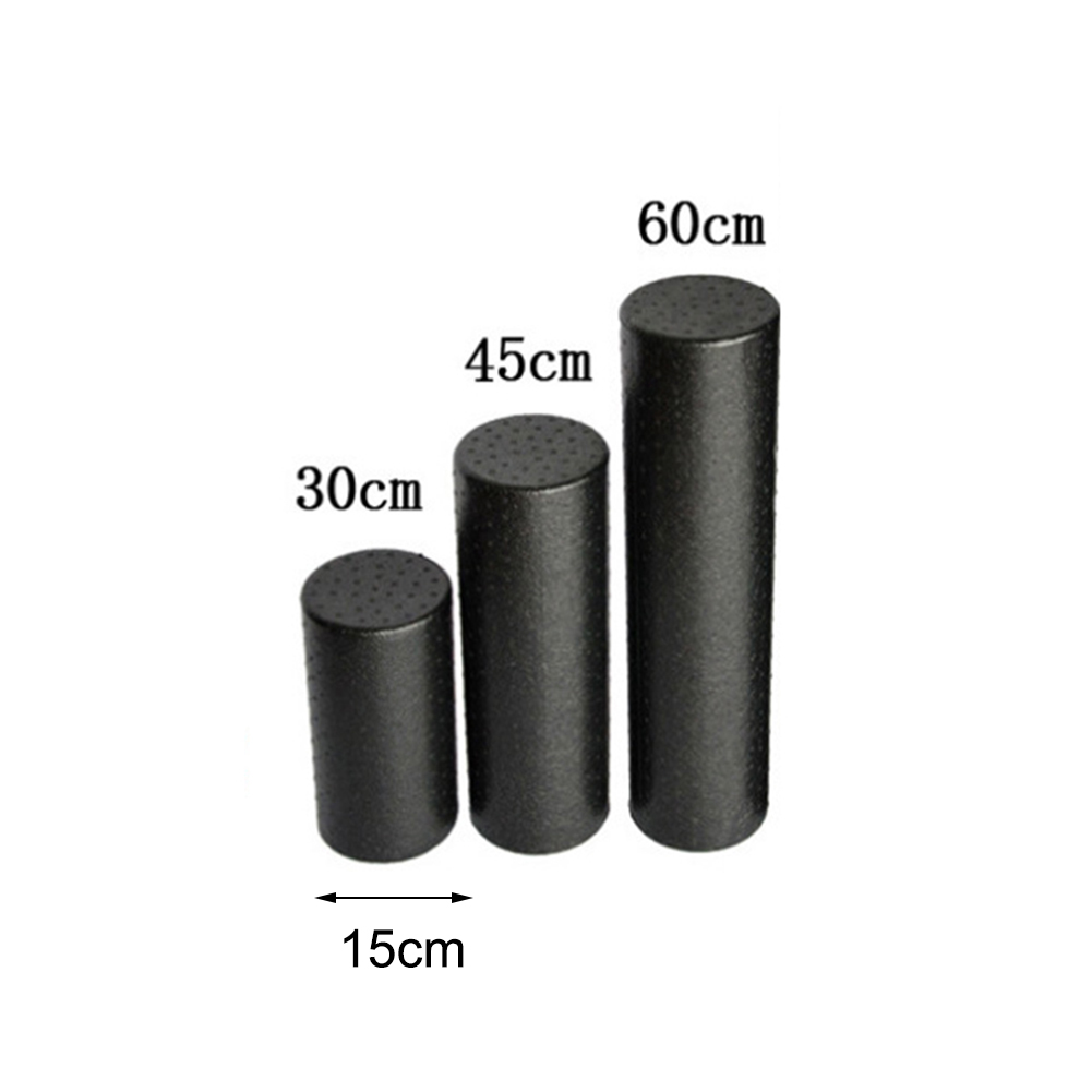 30/45/60cm Yoga Block Roller Eva Fitness Foam Roller Massage Pilates Body Exercises Gym With Trigger Points Training