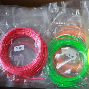 Image 4 - 3d עט מדפסת ABS / PLA נימה, קוטר 1.75mm פלסטיק נימה abs / pla פלסטיק 20 צבעים, בטיחות אין זיהום