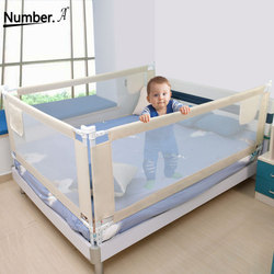folding safety baby security gate child bed rail crib  fence for babies barrier children's playpen kids corral playground  baby