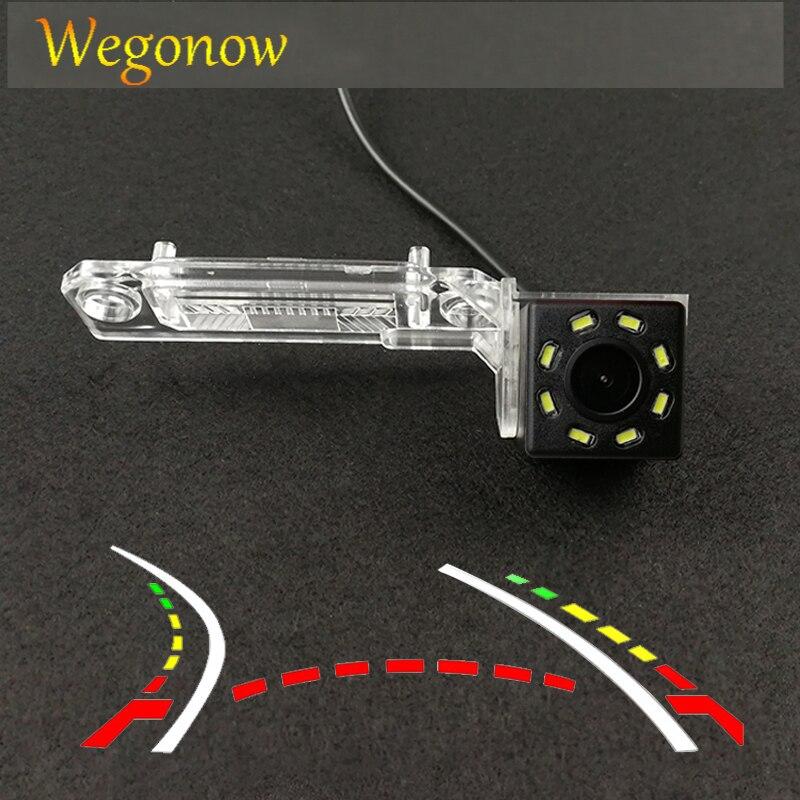 HD bezprzewodowy samochód CCD tylna kamera rybie oko 12 dla Skoda wspaniały VW Magotan Polo Bora Golf Jetta Passat CC Touran Caddy Multivan T5