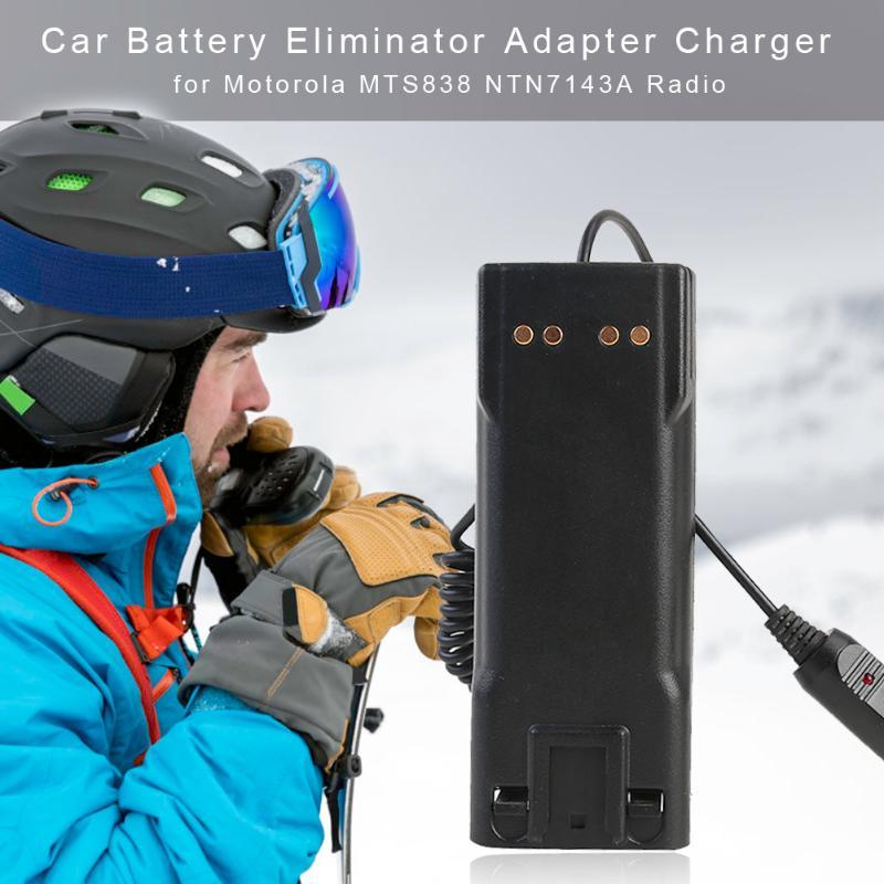 Car Charger Battery Eliminator 13.5V Wear-resistant Battery Box Adapter For Motorola MTS838 Walkie Talkie Radio 17x16cm
