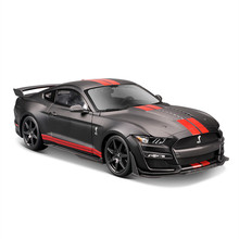 Maisto Toy Die-Casting-Model Simulation Shelby Cobra GT500 1:18 Gift Black Car-Decoration
