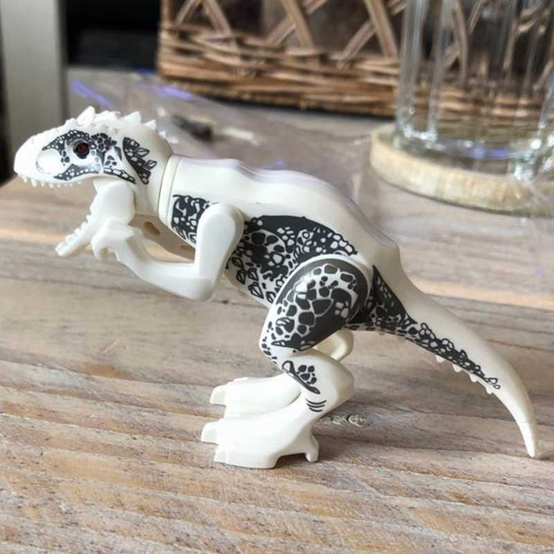 Dinosaur Indominus Rex Action Figures Animals Dragon Model World Jurassic Park  Classic Ancient Collection For Kids   Dinosaurs