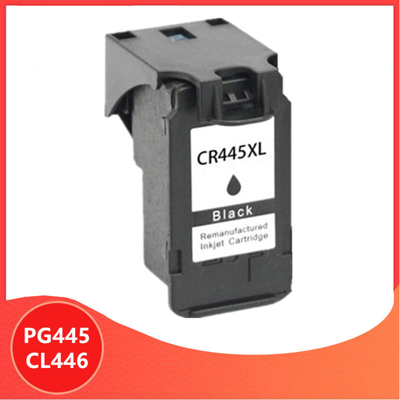 Black PG-445 PG445 CL-446 XL Ink Cartridge for <font><b>Canon</b></font> PG 445 CL 446 for <font><b>Canon</b></font> <font><b>PIXMA</b></font> MX494 MG2440 MG2940 MG2540 <font><b>MG2540S</b></font> IP2840 image