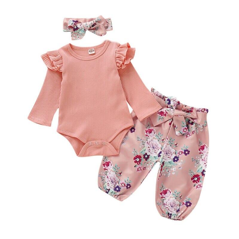 3Pcs Infant Baby Clothes...