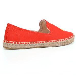 Image 5 - Tienda Soludos Vrouwen Espadrilles 2019 Nieuwe Gehaast Hennep Sapatos Mode Platte Schoenen Vrouw Lui Op Sneakers Mocassins Schoeisel
