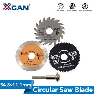 Image 1 - XCAN Out Diameter 54.8mm High Quality Mini Circular Saw Blade Wood Cutting Blade