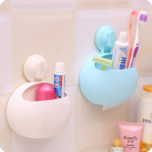 Plastic Toothbrush Holder Toothbrush  Storage Rack Shaver Powerful Suction Cup Toothbrush Holder Cover Device Rack anya d578 together forever toothbrush holder page 6