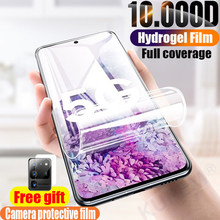 Hydrogel Film Voor Samsung Galaxy S10 Plus Screen Protector S9 S8 Zachte Film S10e S 9 8 Note 10 S20 ultra Plus A51 Een 51 Niet Glas(China)